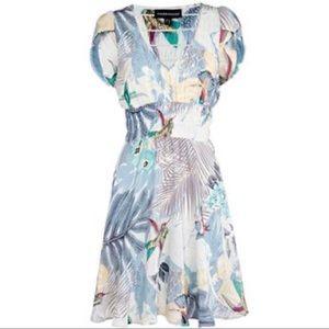 Kate Middleton bird print honeymoon dress